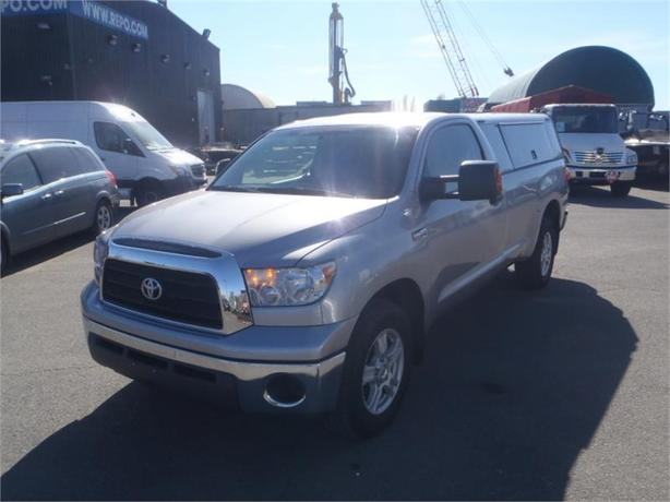 2008 toyota tundra base 5 7l regular cab long bed 2wd with canopy outside comox valley. Black Bedroom Furniture Sets. Home Design Ideas