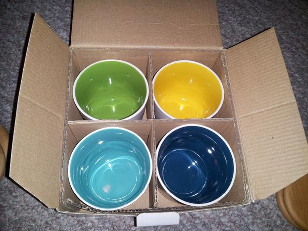 Set of 4 Davids Tea cups