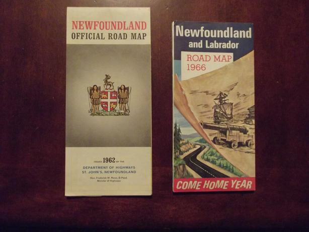 Old maps of NFLD