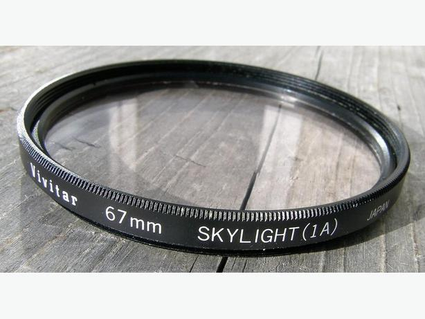Vivitar 67mm Skylight (1A) CAMERA LENS FILTER VGC