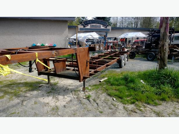 3539 fifth wheel trailer frame for Tiny house Outside Victoria