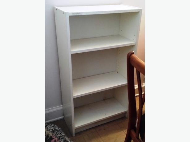 White Ikea Bookcase