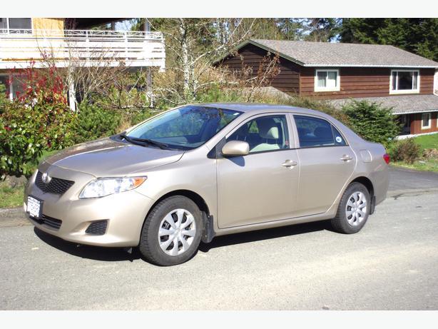2010 Toyota Corolla New Lower Price Outside Nanaimo