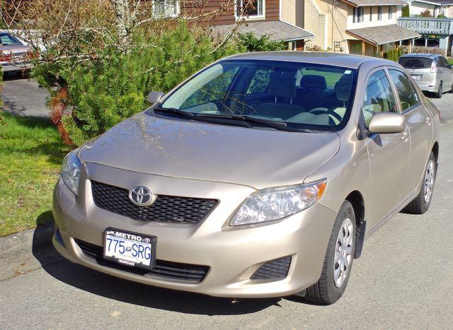 2010 toyota corolla new lower price outside nanaimo parksville qualicum beach mobile. Black Bedroom Furniture Sets. Home Design Ideas