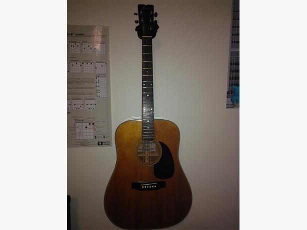 Vintage Fender F-35 Guitar