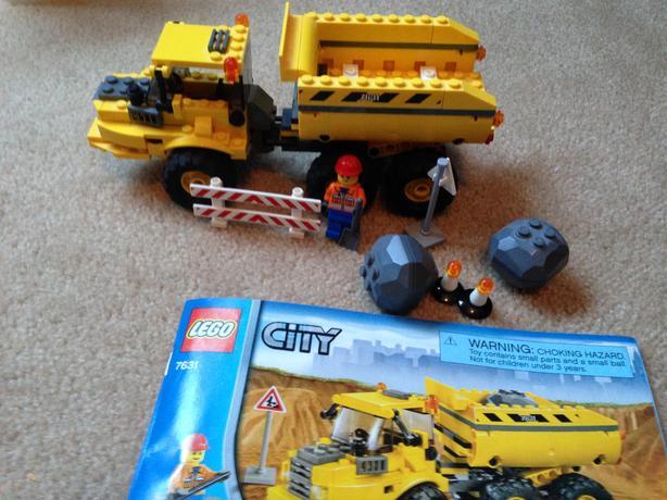 Lego city dump truck