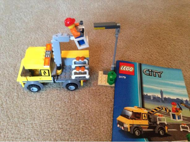Lego city repair truck