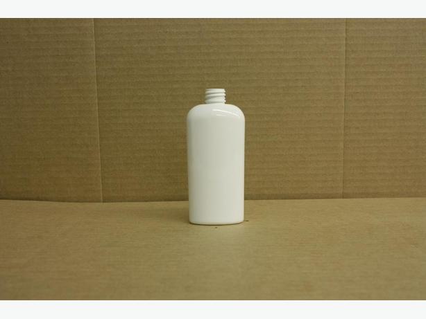 120ml White Oval Bottles (No Caps)