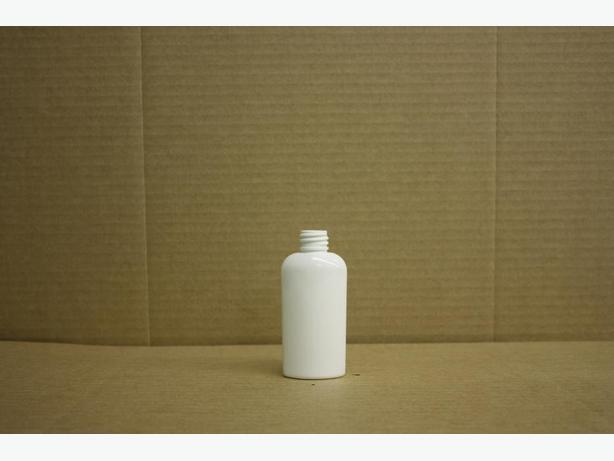 60ml White Oval Bottles (No Caps)