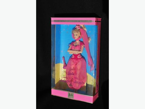 2000 NEW I DREAM OF JEANNIE BARBIE!!
