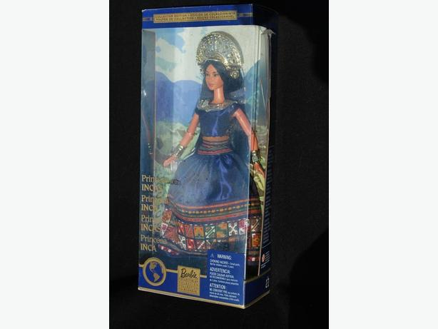 MATTEL BARBIE  2000 DOLLS OF THE WORLD PRINCESS OF INCAS