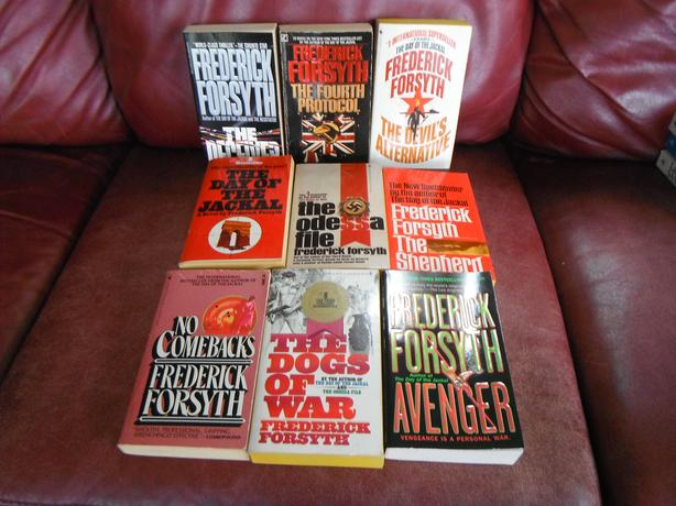 Frederick Forsyth/ set of 9