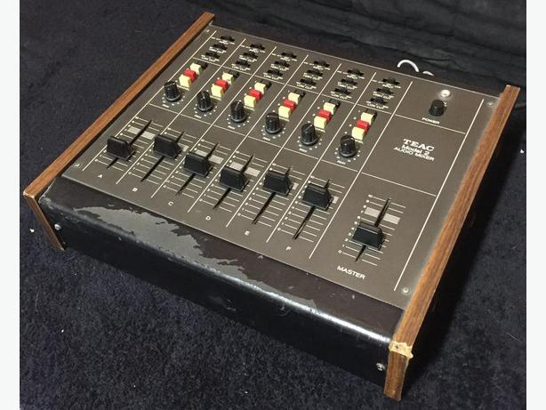 Teac Model 2 vintage Mixer