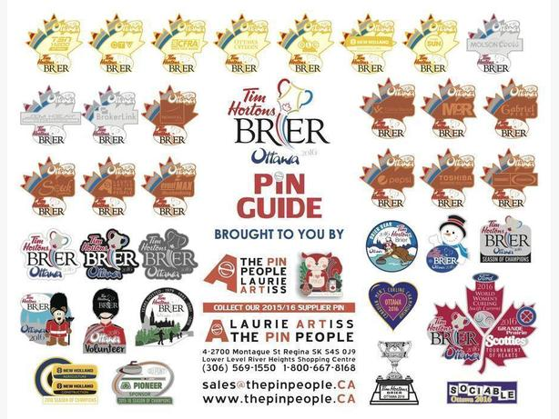 Wanted to Buy Ottawa 2016 Brier Lapel pins