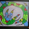 Thunderbird and Snake - Original Norval Morrisseau