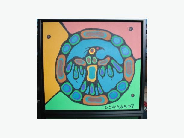 Original Norval Morrisseau - Sacred Medicine Wheel