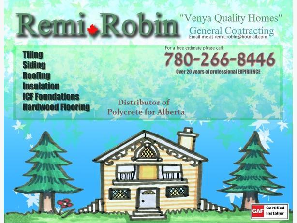 Remi Robin general contractor`s company