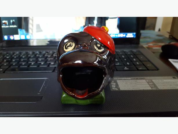 Vintage Monkey head ashtray