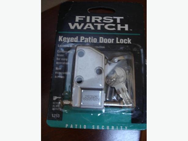 Brand New Best Aluminum Keyed Patio Door Lock With 3 Keys