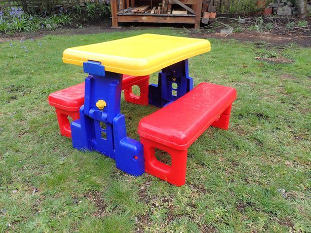 Folding kids picnic table oak bay victoria folding kids picnic table watchthetrailerfo