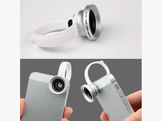Universal Clip Wide Angle + Macro Lens For IPhone Smartphone
