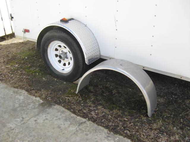 Cargo Trailer Fenders : Cargo trailer fender north regina