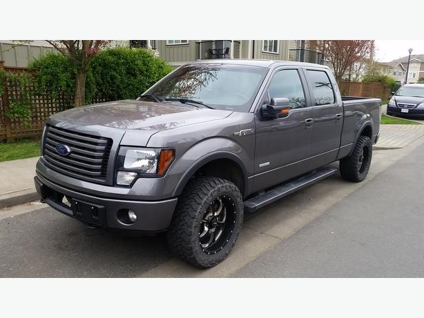 2012 ford ecoboost f 150 fx4 supercrew pickup truck black creek courtenay comox. Black Bedroom Furniture Sets. Home Design Ideas