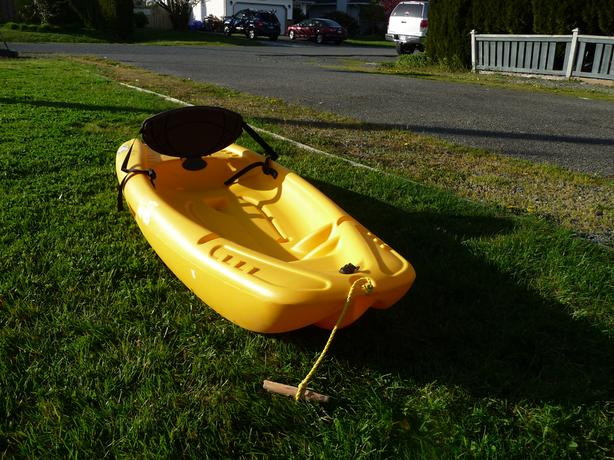 Kayak Kids 6ft Yellow Pelican Solo