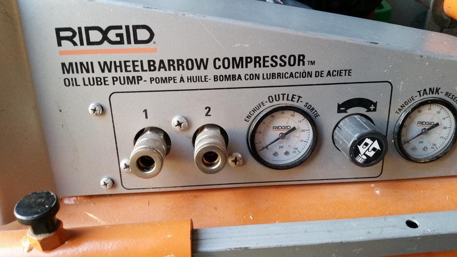 ridgid mobil air compressor manual