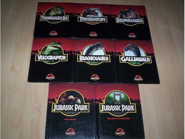 Jurassic Park Book Set