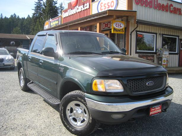 2003 Ford F150 Supercrew 4x4 Lariat Outside Comox Valley