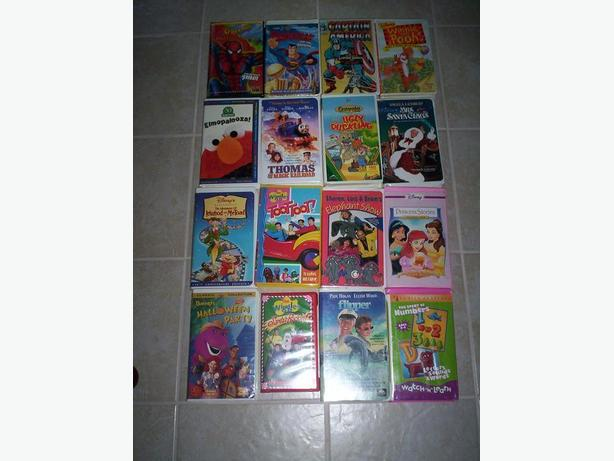 16 Kids VHS Films