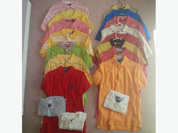 18 Men's Polo Shirts