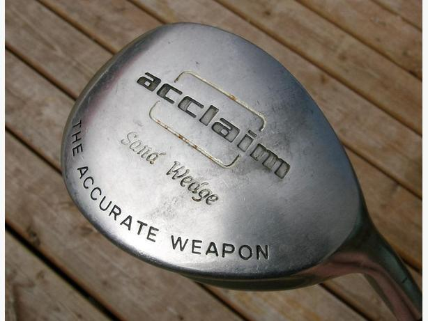 ACCLAIM Right Hand Sand Wedge RH VGC