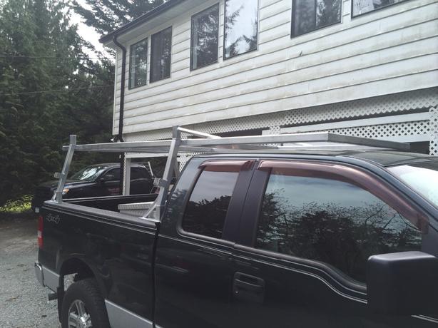 Aluminum Boat Racks : Custom aluminum boat rack ladder headache