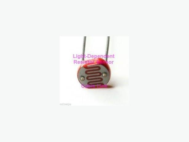 Photoresistor Light-Dependent Resistor Sensor