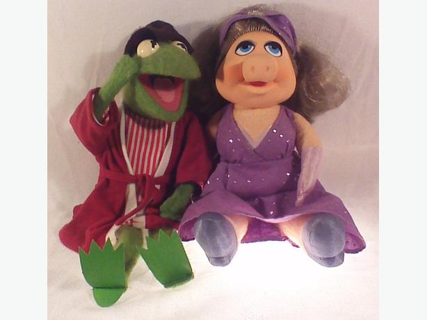 Kermit Miss Piggy muppet dolls
