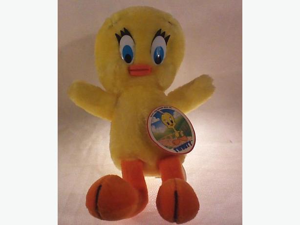 Tweety Bird stuffed toy