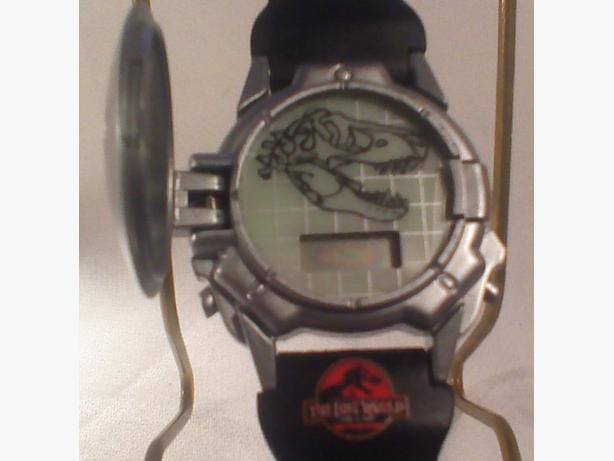 Lost World dino face watch