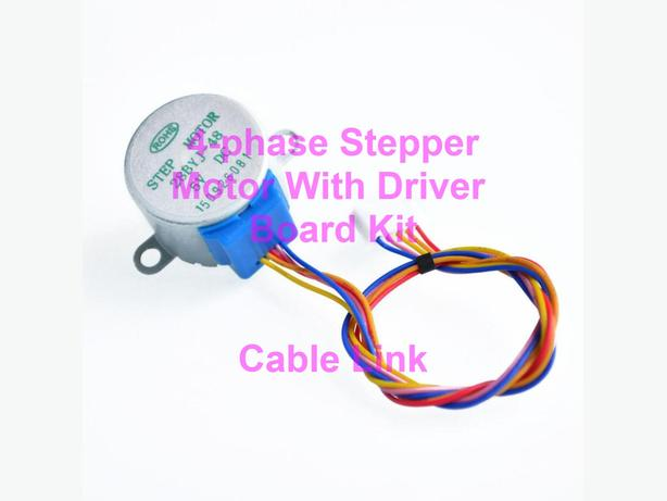 4-phase Stepper Motor with Driver Board Kit Raspberry Pi Arduino