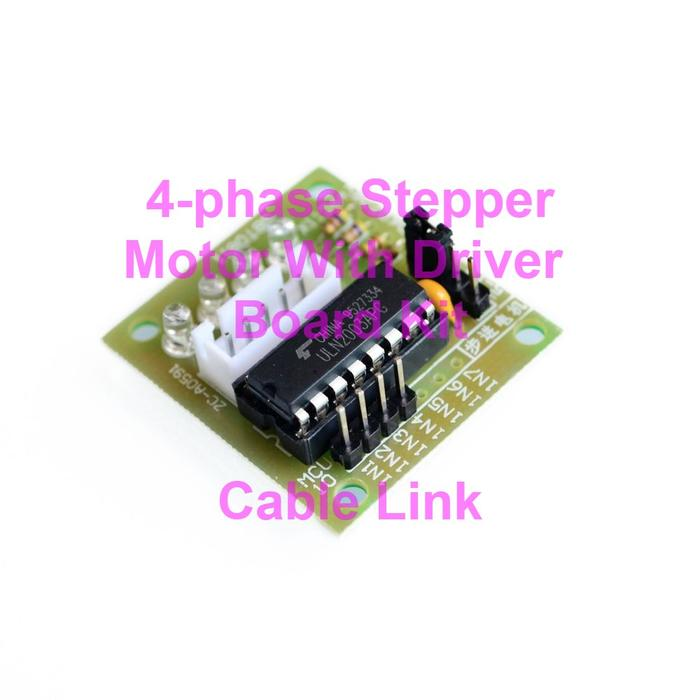 Phase stepper motor with driver board kit raspberry pi