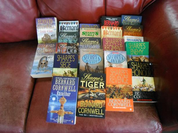 Bernard Cornwell/ set of 22