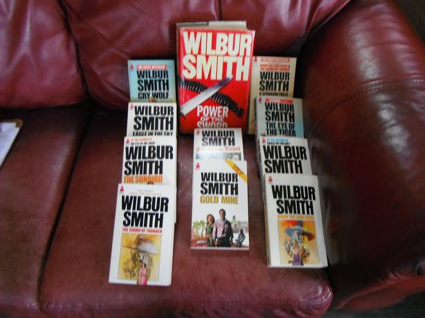Wilbur Smith / set of 11