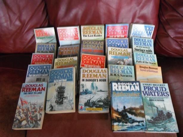 Douglas Reeman / set of 23