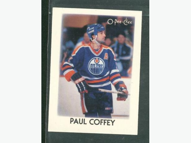 1987-88 O Pee Chee NHL Leaders  Paul Coffey