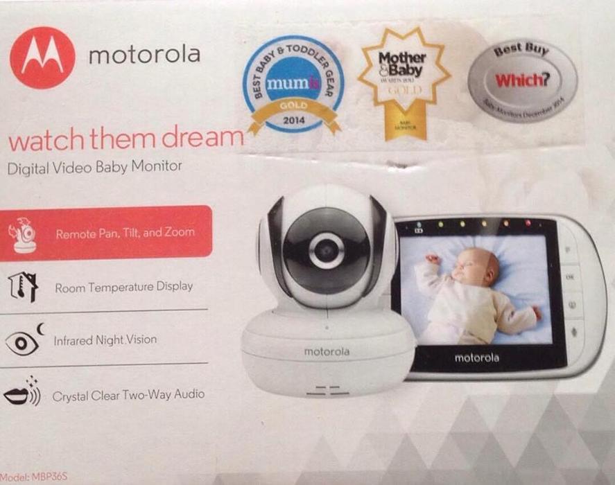 motorola video baby monitor nepean ottawa. Black Bedroom Furniture Sets. Home Design Ideas