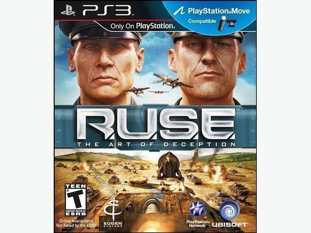 RUSE The Art of Deception (PS3)
