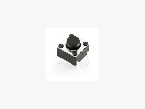Tactile Touch Push Button Tact Switches 6 X 6 X 5mm for Raspberry Pi, Arduino