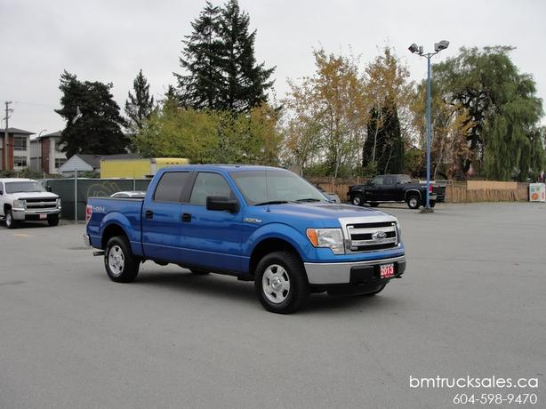 2013 ford f 150 xlt crew cab short box 4x4 surrey incl white rock vancouver. Black Bedroom Furniture Sets. Home Design Ideas