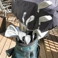 Mens 11 Piece All Matched MacGregor Accumacs Right Hand Golf Set GC